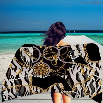 Letni ręcznik plażowy Retro barok ręcznik kąpielowy Camping Gym joga sport ręcznik kąpielowy drukuj Euporean Patten ręcznik plażowy z mikrofibry tanie i dobre opinie CN (pochodzenie) Beach Towel żakaradowy Z dzianiny Rectangle 480g St-01 Szybkoschnący można prać w pralce 11 s-15 s