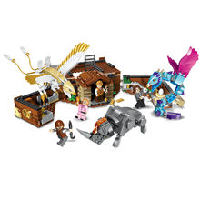 NEW Movie series 720PCS Newt's Case of Magical Creatures Building Blocks Bricks Fantastic Beasts Kids Diy Toys gift legoinglys(China)
