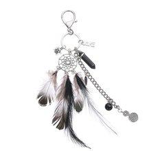 Dream брелок для ключей в виде Ловца снов женское кольцо для ключей с сумочкой сумка с подвесками цепочка Ювелирные изделия