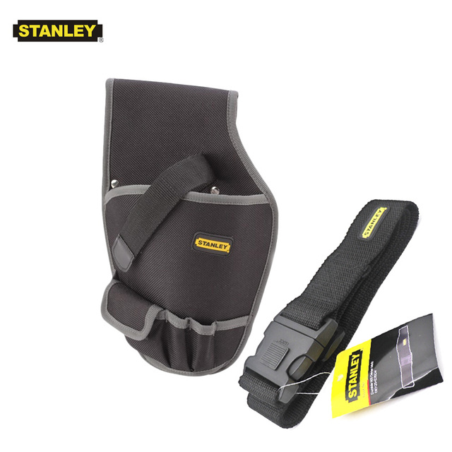 Stanley 1pcs cordless drill holster for screwdriver pouch holder durable small electrical bag on tools nylon pistol tool bags 6