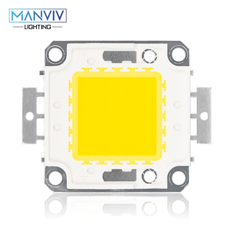 High Brightness LED Beads Chip 10W 20W 30W 50W 100W LED COB Chip Need Driver High Quality DIY Floodlight Spotlight LED Bulb Lamp