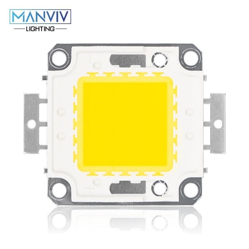 High Brightness LED Beads Chip 10W 20W 30W 50W 100W LED COB Chip Need Driver High Quality DIY Floodlight Spotlight LED Bulb Lamp