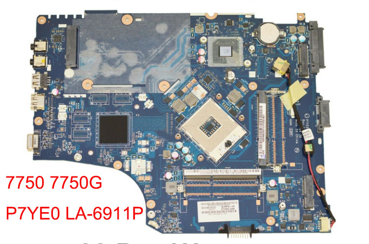 LA-6911P fit for <font><b>acer</b></font> 7750 <font><b>7750G</b></font> laptop <font><b>motherboard</b></font> MBRN802001 P7YE0 LA-6911P tested image