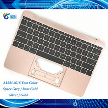 Funda superior Original A1534 gris plateado rosa dorado para Macbook 12 \