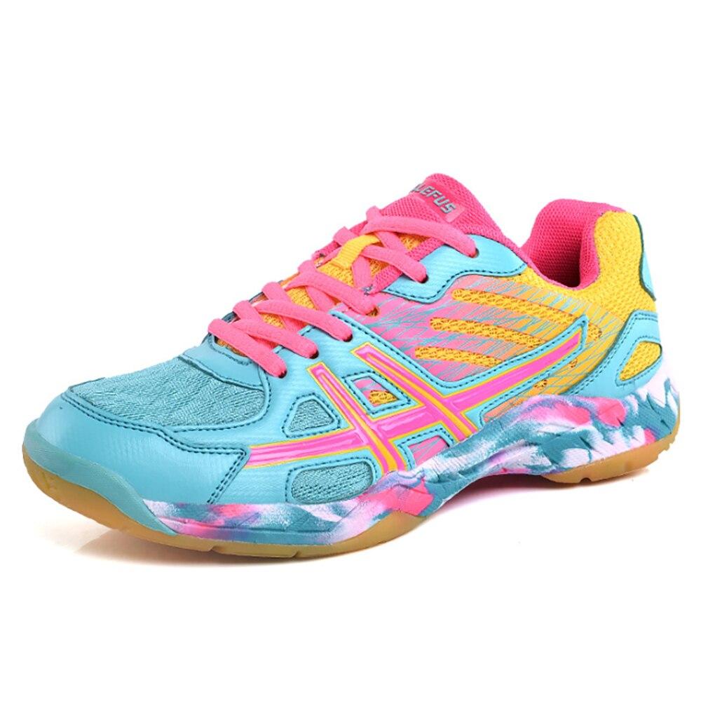 TaoBo Sports Man Sneakers Badminton Shoes Zapatillas Rubber Anti-Slippery Indoor Court Sports Shoe For Men Women