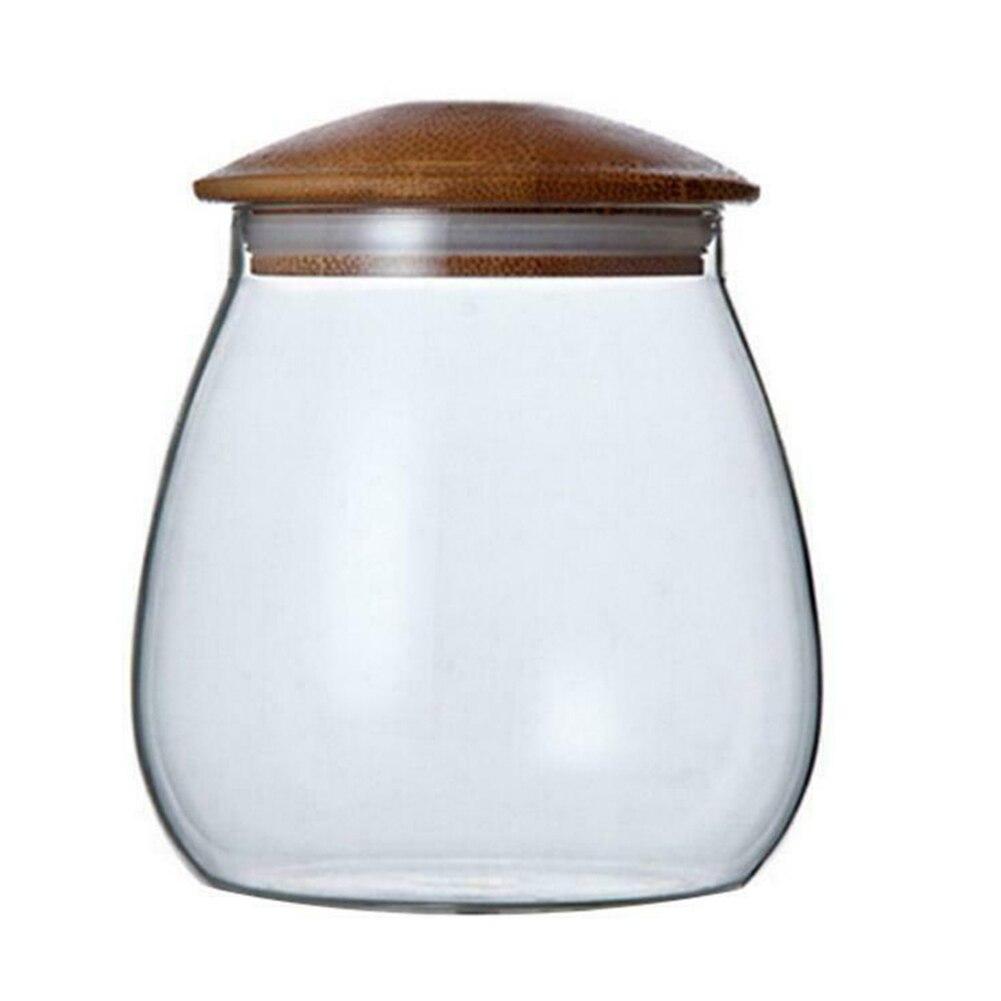 Frasco De Vidrio hermético Con Tapa para cocina, accesorio De cocina hermético para alimentos