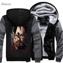 I Am The One Who Knocks Breaking Bad Heisenberg Sweatshirt Hoodies Men 2018 Winter Warm Hooded Fleece Jackets Thick Tracksuit