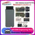 Оригинальный OKI 5054A V5.1.6 AMB2300 полный чип 6154 WI-FI V5.1.5 5054A Bluetooth код читателя 6154 диагностический инструмент до тех пор, пока 2019 6154a
