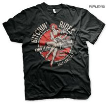 Официальная футболка BITCHIN' RIDES Custom Cars Garage «Соль-озеро» S последняя