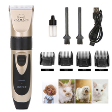 Electrical Pet Dog Hair Trimmer Animal Grooming Clippers Cat Cutter Machine Shaver Electric Scissor Clipper Dog Haircut Machine