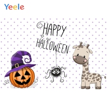 Yeele Halloween Horror Photocall Pumpkin Giraffe Ins Photography Backdrop Personalized Photographic Backgrounds For Photo Studio