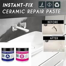 1 adet sihirli onarım tutkalı ajan seramik tamir macunu kat tuvalet banyo lavabo kiremit ev sihirli seramik karo tamir maddesi