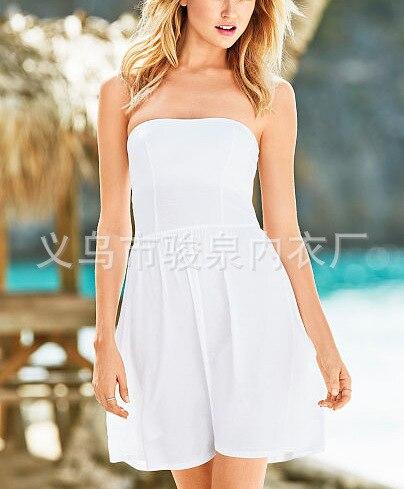 Hot Selling Beach Skirt Flexible Guo Xiong Qun Bikini Cover-up Holiday Skirt Tee Dress