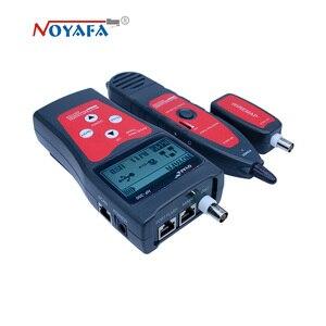 Image 4 - Testeur de câbles NF_300 l Lan RJ45, LCD, moniteur de réseau, sans interférence du bruit, NOFAYA NF 300