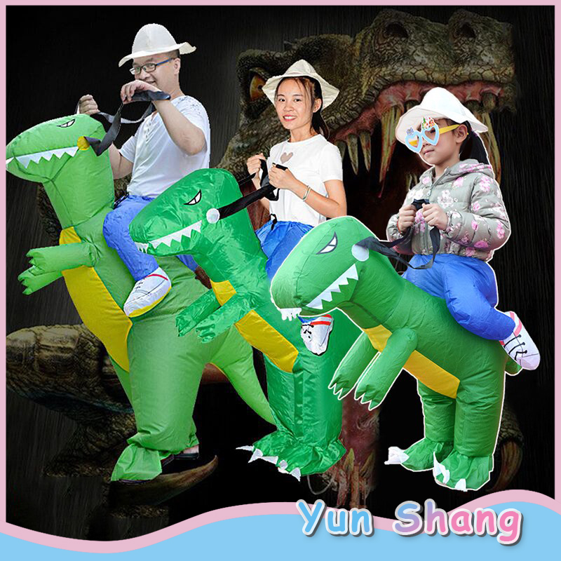 High Quality Waterproof Polyester Toys For Children Adult Inflatable Dinosaur Santa Claus Clothes Fancy Costume Suit Party Toy