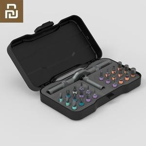 Image 1 - Youpin ATuMan RS1 24Pcs Tool Kit FAI DA TE Cassetta Degli Attrezzi Generale Delle Famiglie di Utensili A Mano con Cacciavite Coltello Cassetta Degli Attrezzi più nuovo disegno