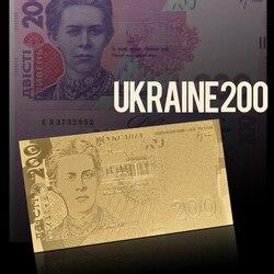 Последняя продукция на рынке WR, серебристая золотистая фольга AAA, Украинская банкнота 200 грн, копия валюты, украинские бумажные деньги