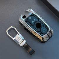 LLavero de aleación de Zinc con mando a distancia para BMW F10 F30 X3 X4 F25 F26, cubierta protectora para coche, accesorios