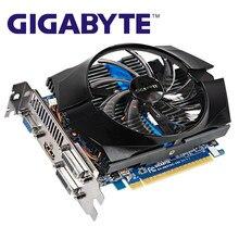 Gigabyte gtx 650ti 1gb placas gráficas 128bit gddr5 GV-N65TOC-1GI placa de vídeo para nvidia geforce gtx 650ti hdmi dvi vga cartões usados