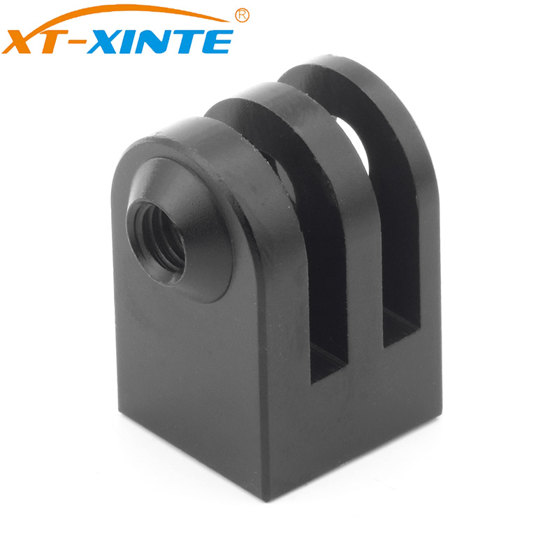 XT-XINTE Aluminum Mini Tripod Mount Outdoor Sports Camera Base Adapter for GoPro SupTig All 1/4