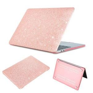 Блестящий чехол для ноутбука Macbook Air Pro retina, возрастом 11, 12, 13, 15 Сенсорная панель деревянной текстуры Жесткий Чехол для Apple macbook 13,3 дюймов