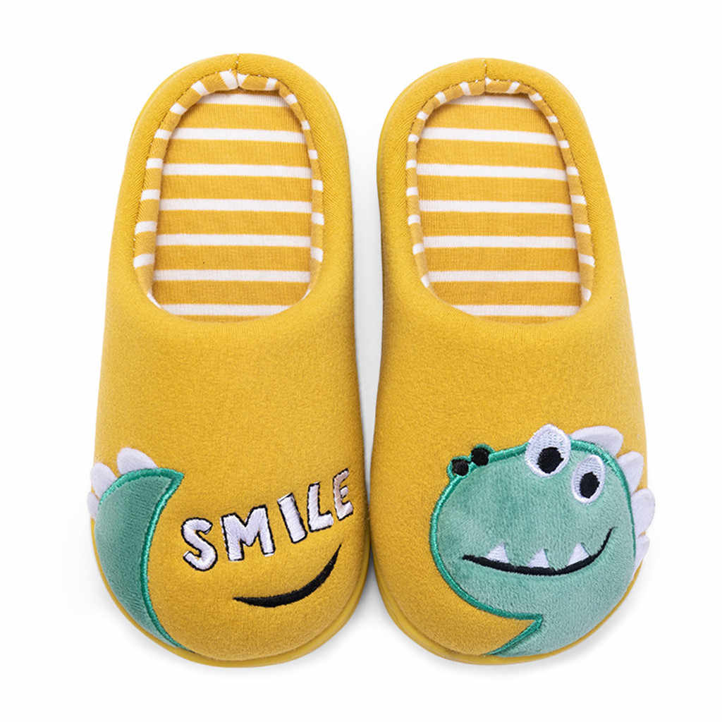 Toddler boys sneakers 2019 Girls Little Kid Shoes Warm Cute Animal Kid Home Slippers zapatilla de niño кроссовки детские#XP25