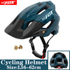 Batfox capacete de bicicleta preto fosco, capacete de ciclismo mtb mountain bike, tampa interna, capacete da bicicleta 28