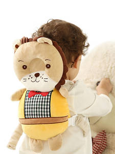 Pillow-Head Backpack-Protector Baby Kids New Cartoon Safety-Products Walking-Assistant
