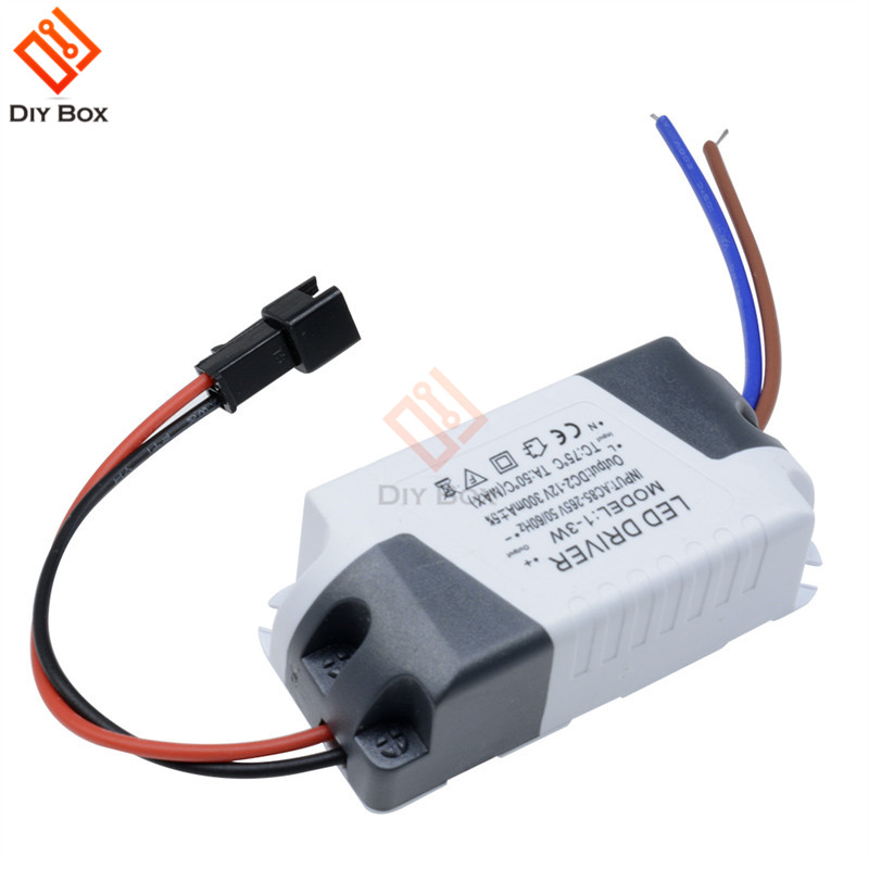 3X1W Simple AC Driver Adapter 85V-265V To DC 3V-14V 300mA LED Power Driver Lighting Transformer For LED Panel Light Downlight