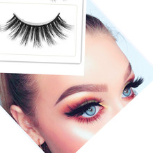лучшая цена Luxury False Eyelashes 3D Mink Lashes Handmade Reusable Natural Curling Thick Eyelashes Popular False Lashes Makeup