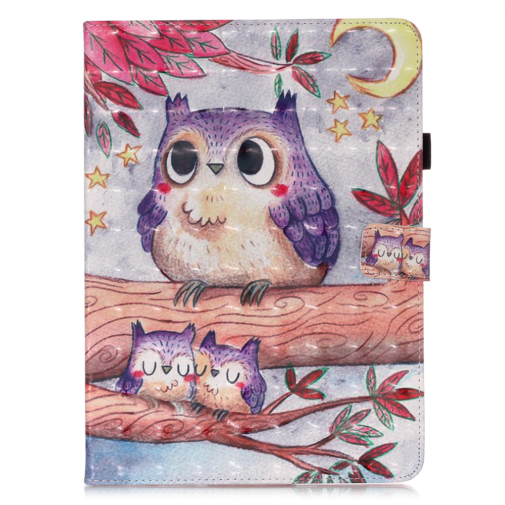 6 Purple Coque For iPad Pro 11 2020 Case Bear Unicorn Butterfly Owl Leather Tablet Cover For Funda