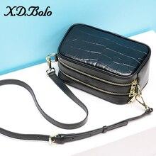 XDBOLO Leather Crossbody Bags For Women 2020 Travel Handbag