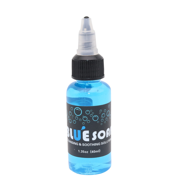 40ML 1PC Tattoo Cleaning Solution Painting Cleaning  Algae Soap Tattoo Tool Equipment Cleaning Liquid Tattoo Supply