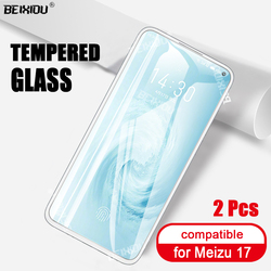 На Алиэкспресс купить стекло для смартфона 2 pcs full tempered glass for meizu 17 screen protector 2.5d 9h tempered glass for meizu 17 protective film