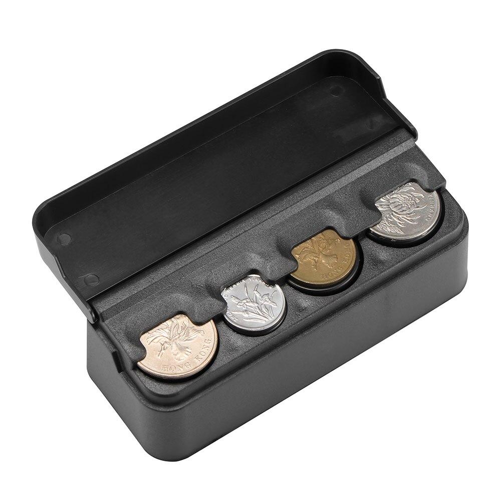 Аксессуары для салона автомобиля, чехол-органайзер, пластиковый держатель, контейнер для монет, коробка для хранения, карман, телескопическая панель, монеты, совместимые
