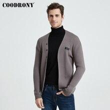쿠 롯디 브랜드 패션 캐주얼 니트 소프트 웜 카디건 남성 의류 2020 가을 겨울 신착 스웨터 코트 포켓 B11
