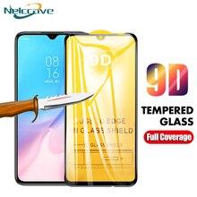 50Pcs Volle Abdeckung 9D Gehärtetem Glas Für Xiaomi A3 Lite Mi A2 A1 5X 6X Mi7 Spielen Hinweis 3 poco X3 X2 F1 F2 Screen Protector Film