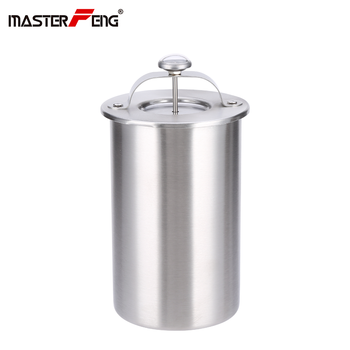 Stainless Steel Ham Press Meat Making Pot Patty Maker With a Thermometer