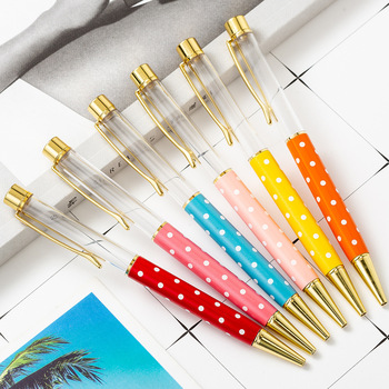 32pcs/set DIY Hand-made Empty Metal Ballpoint Diy Pen Wholesale Diy Pen Gift Diy Ballpoint Pen 2010 New Arrival Metal Gift Pen retro brass pen 0 5mm black ink hand made metal pen the tactical pen copper gift pen stylus private outdoor travel kit