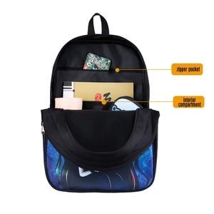 Image 5 - Re:Zero kara Hajimeru Isekai Seikatsu backpack for teenage boys girls bag Anime Emilia Rem children school bags kids backpacks