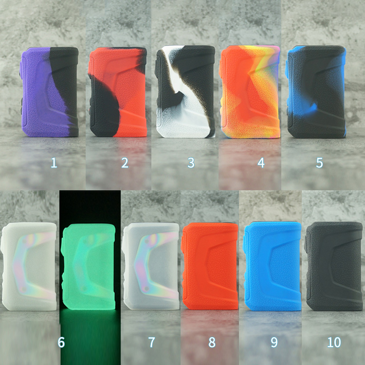 Vapesoon Decorative Protection Cover Skin Silicone Case For Geek Vape Aegis X Pod Kit Aurora Pods E-Cigarette