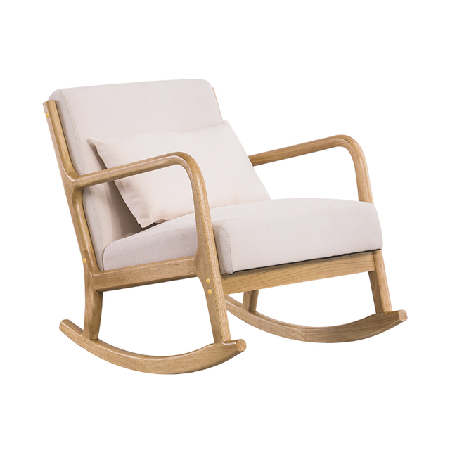 Hardwood Rocking Armchair  2