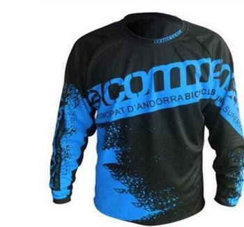 MTB Jersey nueva ropa de Motocross equipo ciclismo jersey Jersey MTB bicicleta camisa motocicleta DH MTB cuesta abajo