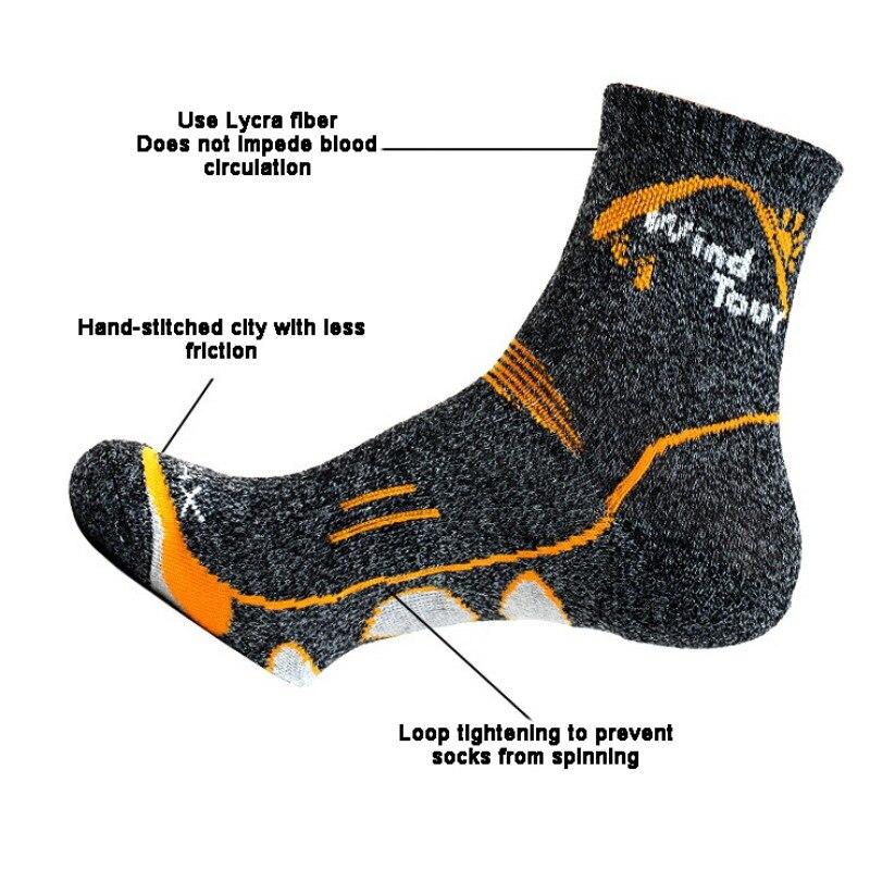 Sports Socks Outdoor Socks Movement Socks Adults Comfortable Breathable Spring Summer Tube Socks Mountain Running Socks