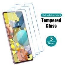 1/2/3 pces vidro protetor para samsung a50 a40 a30 a20 a10 filme frontal em samsung um 50 40 30 20 10 70 hd dureza protetor de tela