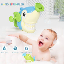 2020 New Durable Hand Wash Toys Plastic Beginning Ability Shark Bath Toy chilsren's Gift baby toys Drop Shipping(China)