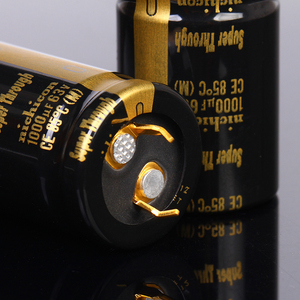 Image 3 - 1pc 6pc 1000UF 63V 22x35mm Nichicon KG Super Through Pitch 10mm 63V/1000uf Gold Foot Super Penetration Electrolytic Capacitor