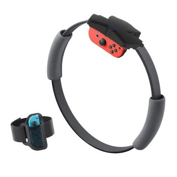 Elastic Leg Strap Band Yoga Ring with Wide Scope of Application Simplicity Grips Fit for Nintend Switch Ring Fit Adventure