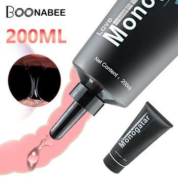Lubricante Anal de 200ml, Juguetes sexuales de lubricación a base de agua para tapón Anal, lubricante de grasa de aceite para masaje sexual, productos sexuales intimados
