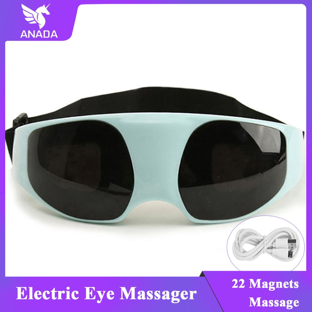 Hot Electric Eye Care Massager Vibration Magnet Therapy Relax Alleviate Acupressur Massage Men And Women Students Use